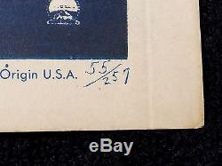 Original & Unused 1955 To Catch a Thief Window Card Movie Poster Hitchcock