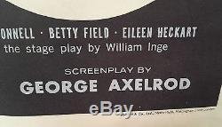 Original Vintage Folded British movie poster MARILYN MONROE BUS STOP