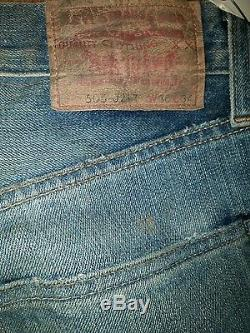 Out of the Furnace (Christian Bale) Levi Strauss Jeans Wardrobe MOVIE PROP