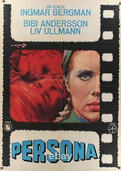 PERSONA 1966 39x55 poster Ingmar Bergman Liv Ullmann