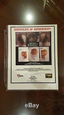 PLANET OF THE APES Prop Original unused Roddy McDowall APPLIANCE + HAIRPIECES