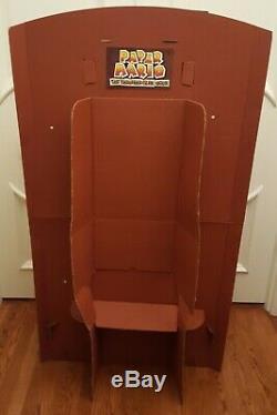 Paper Mario The Thousand-Year Door Full Size 3D Display Standee Nintendo 2004