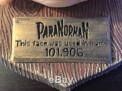 Paranorman Motion Picture Crew Gift. 4 Face Props Used In The Film