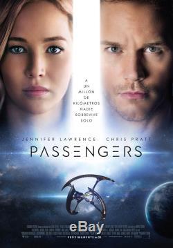 Passengers Jennifer Lawrence Hibernation Pod screen wardrobe Studio COA & 8x10