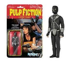 Pulp Fiction Quentin Tarantino 8 Figuren Set Reaction 3 3/4 Inch Funko