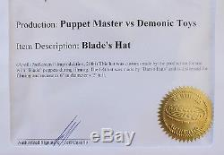 Puppet Master vs Demonic Toys Blade's Hat Blade Horror Movie Prop Screen Used
