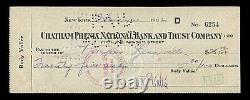 RARE 1931 KATE SMITH ORIGINAL RADIO SHOW SCRIPT RUDY VALLEE with AUTOGRAPHED CHECK