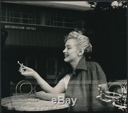 RARE 1953 Original Photo MARILYN MONROE NEED A LIGHT by ANDRE de DIENES