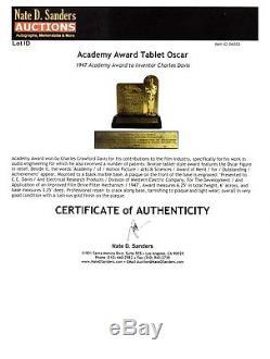 RARE & Original 1947 Academy Award Oscar Holy Grail of Hollywood Memorabilia