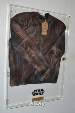 RARE Star Wars PROP Screen Used COSTUME JACKET, Rise of Skywalker COA, UACC CASE