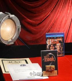 ROBIN WILLIAMS HOOK Croc PROP Screen-used Skin, Premiere Props COA, DVD, Frame