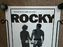 ROCKY starring Sylvester Stallone 30x40 poster original 1976