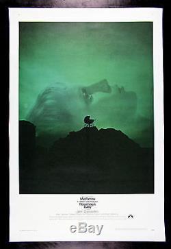 ROSEMARY'S BABY CineMasterpieces ORIGINAL MOVIE POSTER MIA FARROW HORROR 1968