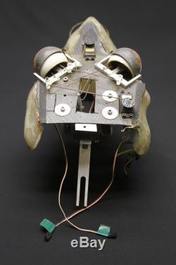 Radio Controlled Servo Powered Dinosaur Animatronic Head Underskull Prop