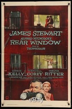 Rear Window 1954 Original One Sheet Alfred Hitchcock