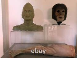 Rick Baker props lot Grinch Planet Apes The Ring screen used horror movie rare