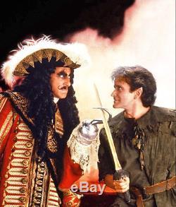 Robin Williams Hook Peter Pan Hero Gold Sword Screen Used Movie Prop Spielberg