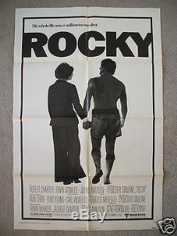 Rocky 1976 Original Movie Poster 1sh Vintage Balboa Sylvester Stallone Boxing