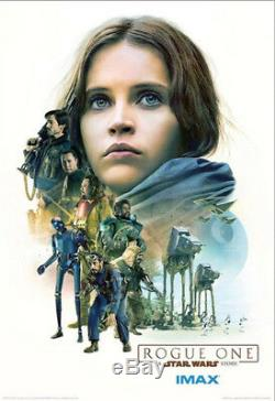 Rogue One Star Wars Amc Imax Exclusive Original Complete Set Movie Posters 13x19