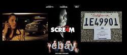 SCRE4M SCREAM 4 Alison Brie Screen Used License Plate