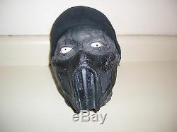 SCREEN USED MORTAL KOMBAT NOOB SAIBOT DECAPITATED HEAD. Latex foam