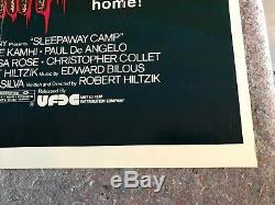 SLEEPAWAY CAMP 1983 ORIGINAL 1 SHEET MOVIE POSTER 27x41 (F+) HORROR THRILLER
