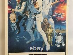 STAR WARS Australian Daybill Movie Poster cult sci-fi classic high grade origina
