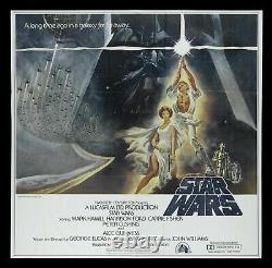 STAR WARS CineMasterpieces 1977 HUGE 6SH RARE ORIGINAL VINTAGE MOVIE POSTER