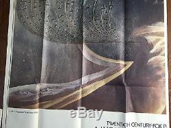 STAR WARS Episode IV A New Hope Six 6 Sheet Movie Poster 1977 Original Billboard