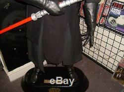 STAR WARS Life Size DARTH MAUL 1999 Universal Studios Statue Frito Prop Figure