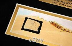 STAR WARS Prop TATOOINE KRAYT DRAGON, Signed KENNY BAKER R2D2, COA, DVD, UACC