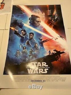 STAR WARS THE RISE OF SKYWALKER Original Final DS One Sheet 27x40 D/S US Poster