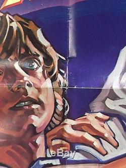 STAR WARS original 1977 U. S. One sheet Style D Drew Struzen Art! Stunning! EX