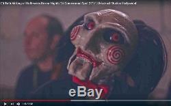 Saw Billy Animatronic Puppet Prop Dummy Doll Ventriloquist Halloween Ooak Jigsaw