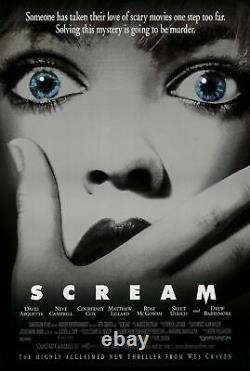 Scream (1996) Original Movie Poster Rolled