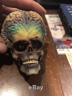 Screen Used Mars Attacks Alien Head Stopmotion Puppet Coa Rare