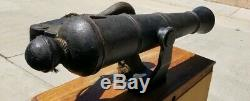 Screen Used Original Prop Pirate Ship's Cannon Jolly Roger From Movie Peter Pan