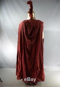 Screen Used Worn Hercules Movie Film Prop Armor Helmet Cloak Costume COA Cosplay