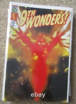 Screen used Heroes 9th Wonder comic book prop lot of 6 (not replicas) Lot #1
