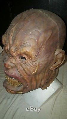 Screen used Lord of the Rings Orc mask withCOA