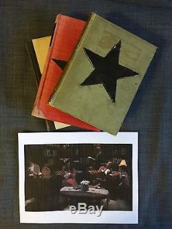 Screen used prop book from David Bowie online video series