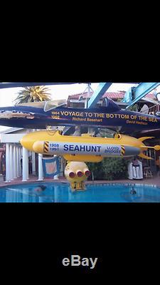 Seahunt 1958 Television Tv Series Vintage Rare Screen Used Movie Submarine Prop