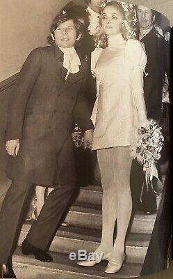 Sharon Tate and Roman Polanski Champagne Wedding Goblet 10050 Cielo Drive