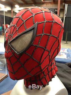 Spiderman Mask Movie Used Prop From Spiderman 2 Marvel Comics Stan Lee