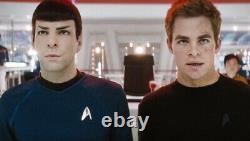 Star Trek 2009 Starfleet Science Division Badge Screen Used Prop With COA