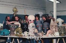 Star Wars ANH Vintage Duros Cantina Head Prop Cast From Production Molds