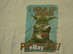 Star Wars Cast And Crew ROTJ Employee Shirt 1983 Vintage ILM Rare Original