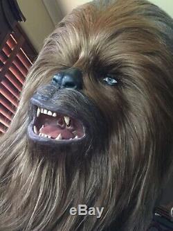 Star Wars Chewbacca Prop Life Size 11 Head Bust ULTRA RARE