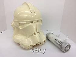 Star Wars Clone Trooper Helmet, Belt, Shoulder Armor 1-1 Prop Replicas No Reser