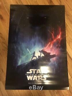 Star Wars The Rise of Skywalker 2019 Original Double Sided Movie Poster 27X40